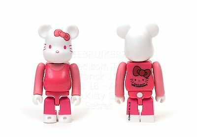 $35 • Buy Medicom Toy Bearbrick 100% SERIES 18 Animal HELLO KITTY SECRET 1/48 Alternate