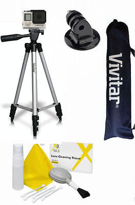 $ CDN33.11 • Buy  50  Vivitar Tripod  For Gopro Hero5 Black Edition Gopro Session + Cleaning Kit