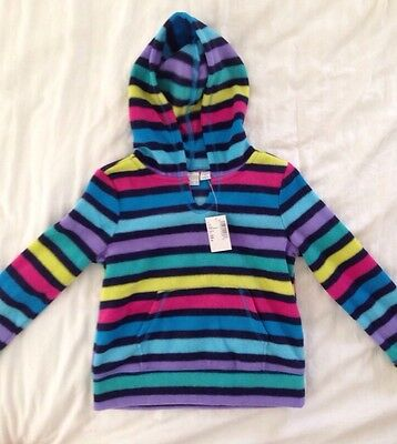 £6.98 • Buy The Childrens Place New Rainbow Fleece Hoodie Warm Size S 5 7 NEW NWT