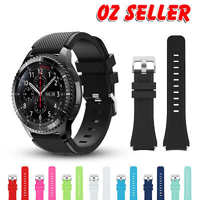 AU5.95 • Buy Samsung Gear S3 Frontier Classic Fashion Sports Silicone Bracelet Strap Band