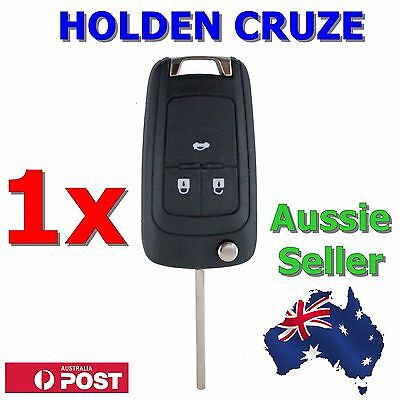 AU8.95 • Buy 1x Holden Barina/Cruze/Trax 3 Button Remote Flip Key Blank Shell/Case/Enclosure