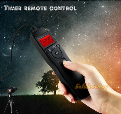 Time Lapse Intervalometer Remote Timer Shutter For Canon DSLR 650D 600D Camera • 14.99£