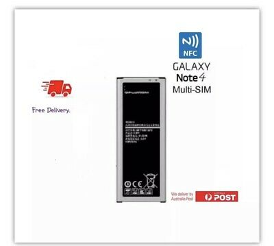 AU25.98 • Buy NFC* Li-ion Samsung Galaxy Note 4 Duos N9100 Battery Replacement EB-BN916BBC