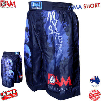AU34.19 • Buy Dam Mystery Fight Gear Mma Ufc Shorts For Mma Fight Boxing , Kick Boxing Short