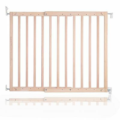 Safetots Chunky Deluxe Screw Fit Wooden Stair Gate Infant Baby Gate 63.5 105.5cm • 37.90£