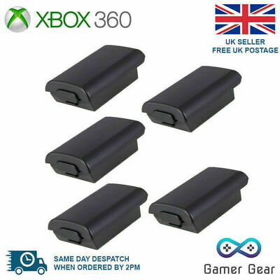 £4.45 • Buy Xbox 360 Controller Battery Back Cover Case Shell - Black 5 Pack