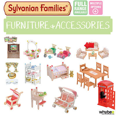 Sylvanian Families Furniture & Accessories Sets Choose Your Set Brand New • 7.99£