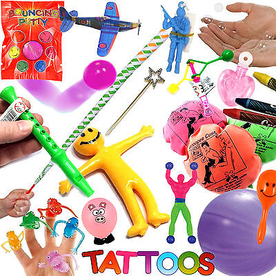 Childrens Birthday Party Bag Fillers Toys Boys Girls Wedding Loot Prizes Bubbles • 8.95£