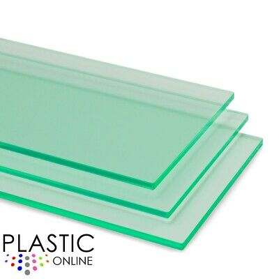 £4.75 • Buy Light Green Tint Perspex Acrylic Sheet Colour Plastic Panel Material Cut To Size