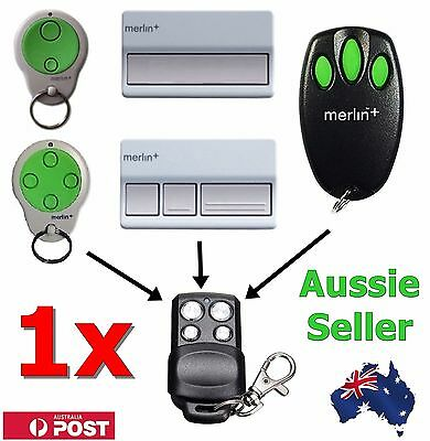 AU9.70 • Buy 1x Merlin+ C945 CM842 C940 C943 Bearclaw Plus Replacement Garage Remote Control