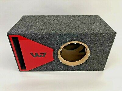 $ CDN253.74 • Buy JL Audio 8W7 AE Ported Subwoofer Box SPECIAL EDITION With Red Plexi Port Trim