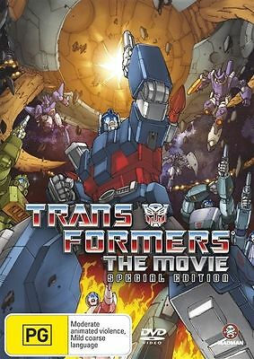 £12.69 • Buy Transformers - The Animated Movie Special Ed (DVD, 2007, 2-Disc Set) Region 4