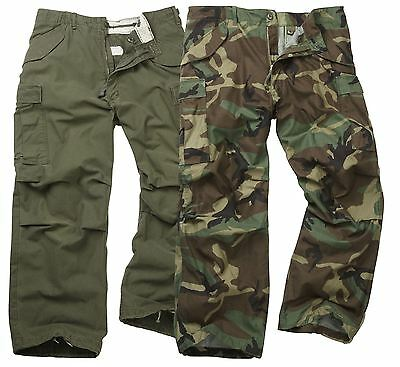$56.48 • Buy M65 Trousers Original Army Combat Military Field Tactical Work Cargo Pants Camo