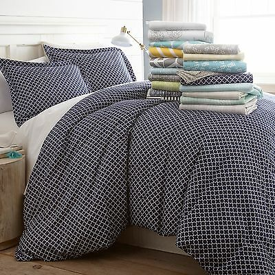 $22.99 • Buy 3 Piece Patterned Duvet Cover Sets By Home Collection -8 Beautiful Designs!