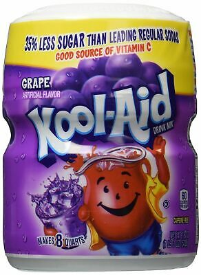 Kool Aid Grape Drink Mix 19oz 538g Sweetened Koolaid • 7.45£