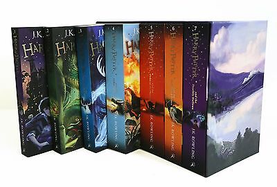 AU70.88 • Buy Harry Potter The Complete Boxed Collection J.K Rowling 7 Books Box Set
