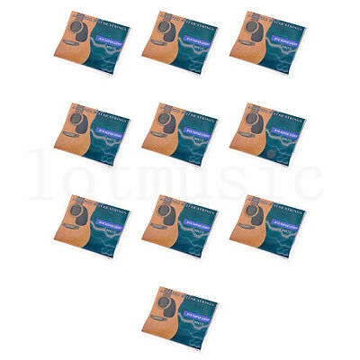 $ CDN25.94 • Buy 10 Sets Acoustic Guitar Strings .010-.047  Copper Steel String