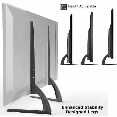 Universal Table Top TV Stand Legs For Toshiba Regza 32AS2, Height Adjustable • 30.58£