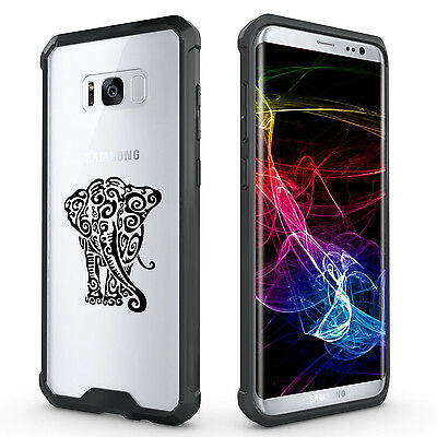 $ CDN20.10 • Buy For Samsung Galaxy S7 Edge S8 S9 + Clear Shockproof Case Cover Tribal Elephant