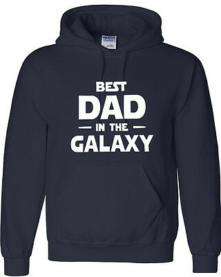 $27.99 • Buy Best Dad In The Galaxy Gift Hoodie  FATHER'S Day Gift  Hooded Sweatshirt