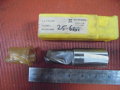 Marwin 25.6mm Carbide Tipped End Mill • 15£
