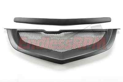 $209 • Buy Acura TL 04 05 06 07 08 Mesh Shark Mouth Front Grill - Black (SHIPS FROM USA)