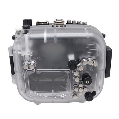 Mcoplus 40M Waterproof Underwater Camera Housing Case For Canon EOS 70D 18-135mm • 267£