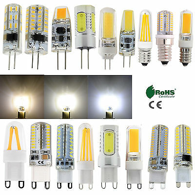 AU3.29 • Buy G4 G9 E14 Dimmable Silicone Crystal LED Corn Light Filament Bulb COB Lamp Bright