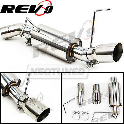 $196 • Buy Rev9 CB-1021 For Mustang 05-10 V6 2.5  Single Axle Back FlowMaxx Exhaust System