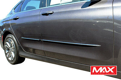 $64.99 • Buy 2007-2016 Toyota Camry Lower Chrome Streamline Side Door Body Molding Trim 1/2