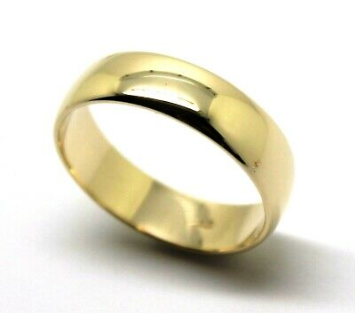 AU360.05 • Buy Kaedesigns Genuine Solid 9ct 9Kt Yellow Gold Wedding Band Ring Size U 6mm Wide