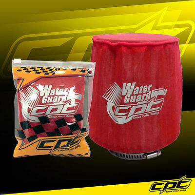 $19.99 • Buy Water Guard Cold Air Intake Pre-Filter Cone Filter Cover For Honda Medium Red