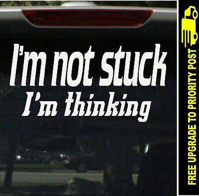 AU6.90 • Buy 4x4 4wd Funny OFF ROAD Sticker Not Stuck 200mm Decal