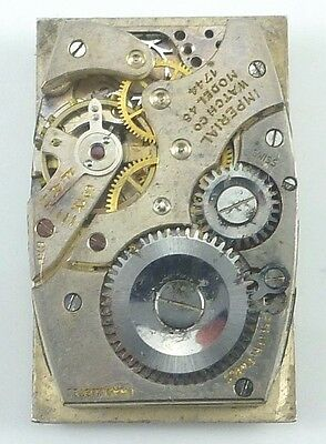 $ CDN32.85 • Buy Vintage Imperial Watch Co 48 Mechanical Wristwatch Movement -  Parts / Repair