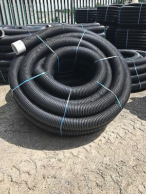 6  Heavy Duty Land Drainage Coil 50 Meters £2 A Meter • 120£
