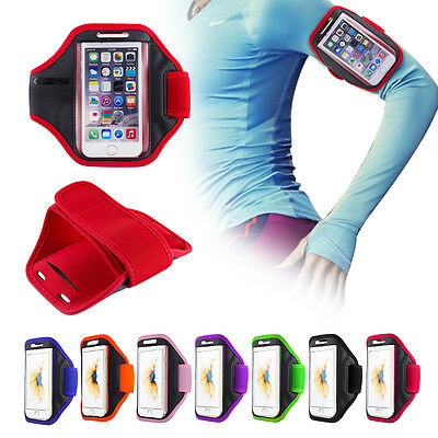 For IPhone 6 / 6S Gym Running Jogging Sports Armband Case Holder Strap • 4.45£