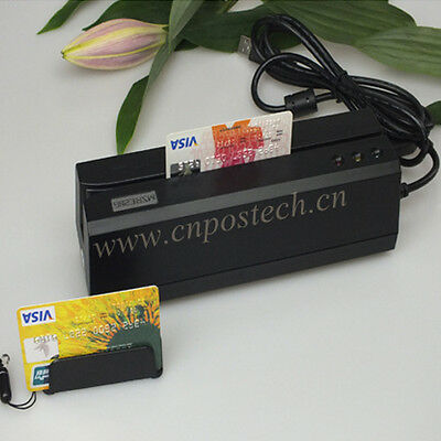 $175 • Buy Magnetic Card Reader Writer MSRE206 W/Portable Collector Magstripe MINI400