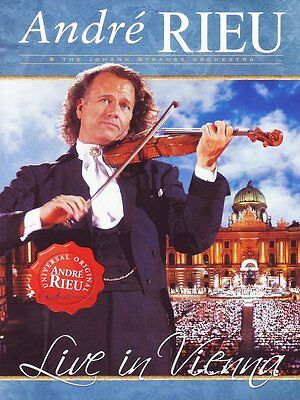 ANDRE RIEU : LIVE IN VIENNA  -  DVD -  Region 2 UK - New • 12.99£