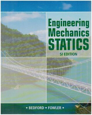 Engineering Mechanics: Statics SI: AND Study Pack, Bedford, Anthony M, Used; Lik • 27£