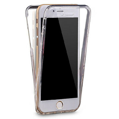 AU7.14 • Buy For IPhone 6 / 6s 360 Full Coverage Case Gel (Crystal Clear TPU Silicone Jelly)