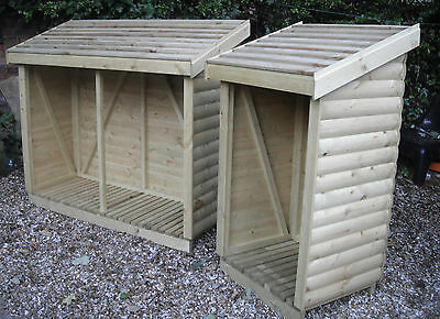 £172.80 • Buy Heavy Duty Loglap Wooden Log/Wood Store/Shed TOP QUALITY
