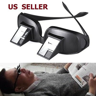 $11.66 • Buy US SHIP Bed Prism Spectacles Horizontal Lazy Glasses 90 Grad For Reading