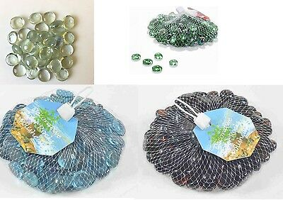 £3.49 • Buy Glass Nuggets Stones Beads Pebbles For Home Decorative Vase Great Weddings Clear