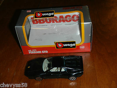 $7.99 • Buy Toy Car Model Burago Ferrari Gt0 Gto 1/43 Scale 4175