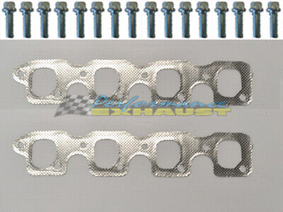 AU46 • Buy Ford Falcon Cleveland V8 4v 302 351 Exhaust Manifold Extractor Gaskets & Bolts