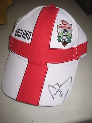 Andrew Strauss (England - Former Test Captain) Signed England Cricket Cap + COA • 83.29£