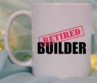 £8.95 • Buy Funny Retirement Gift Retired Mug Work Colleague Personalised Any Job Him Her