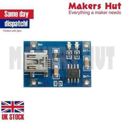 TP4056 5V USB 1A Lithium Battery Charging Board LiPo Charger Module Arduino • 2.29£