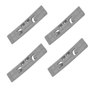 £9.90 • Buy Genuine Hotpoint Tumble Dryer Grooved Drum Bearing Pads X 4