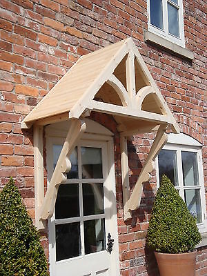 £250 • Buy Timber Front Door Canopy Porch,  BLAKEMERE SCROLLED GALLOWS Awning Canopies